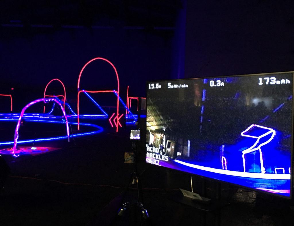 circuit de course de drones