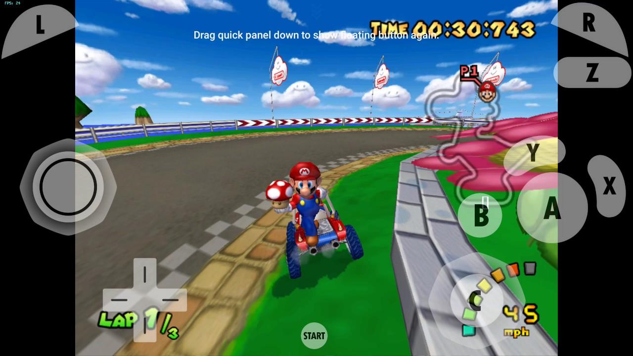 Emulateur Nintendo Wii et Game Cube sur Android