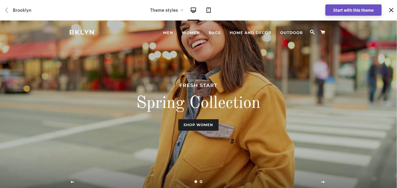 Top 10 des meilleurs thèmes gratuits Shopify