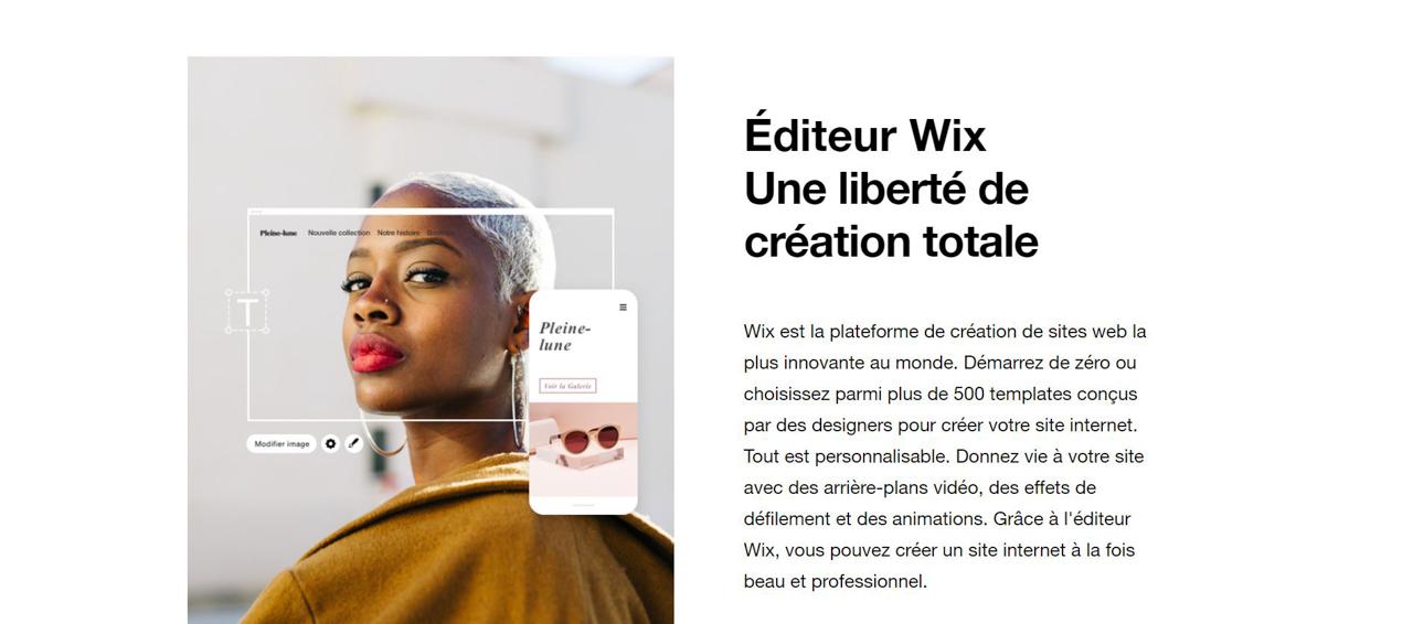 Wix : mon avis et mon guide